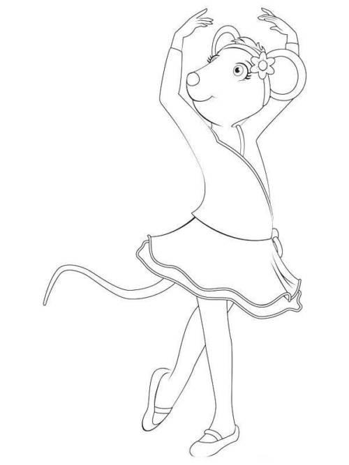 ideias de desenhos de bailarinas