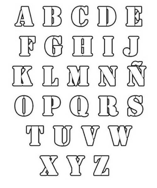 abecedário para colorir