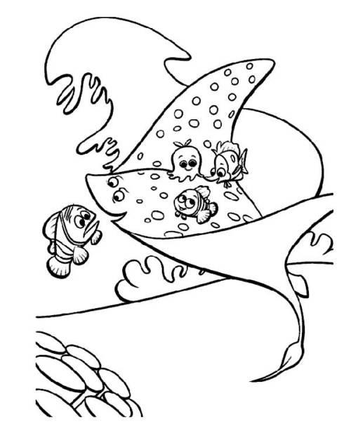 64 Desenhos Infantis Do Procurando O Nemo Para Criancas
