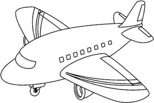 45 Desenhos De Aviao Para Pintar Colorir Em Casa