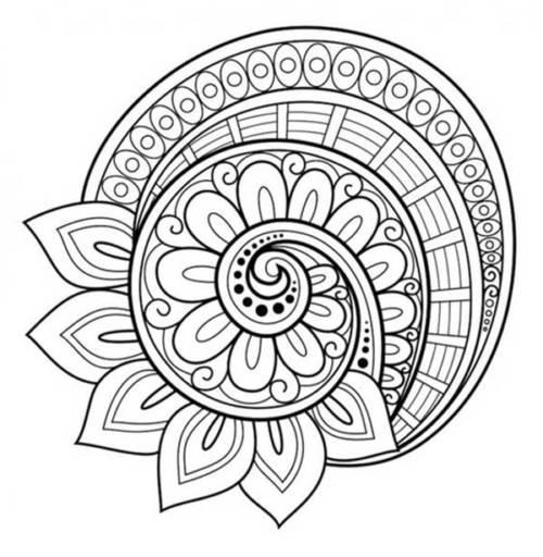 57 Desenhos De Mandala Para Colorir E Relaxar Anti Estresse