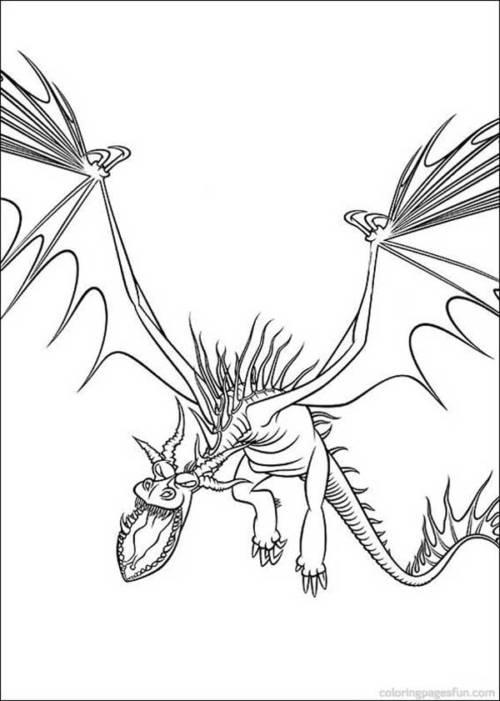 desenhos de como treinar meu dragão