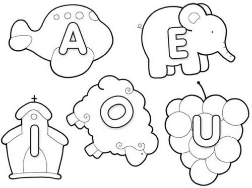 45 Desenhos Educativos Para Criancas Colorir Atividades