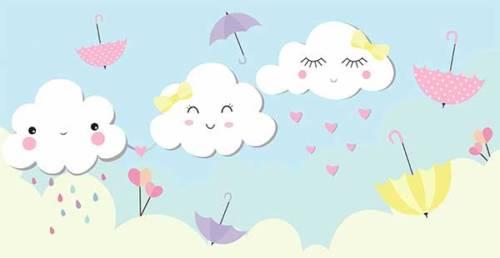 41 Desenhos Da Chuva De Amor Para Baixar E Colorir Em Casa
