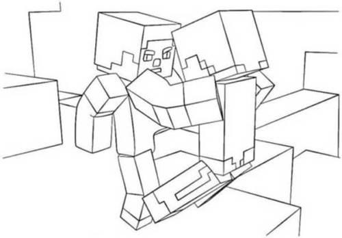 49 Desenhos Do Jogo Minecraft Para Imprimir E Colorir Pintar