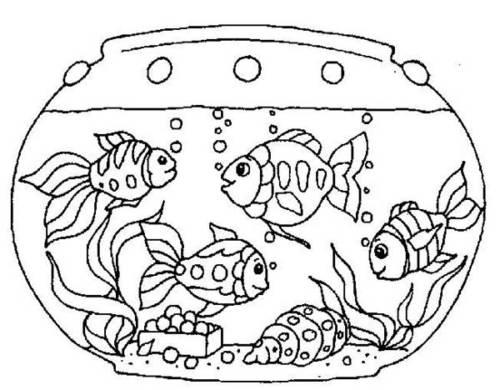 57 Desenhos Divertidos De Peixe Para Imprimir E Colorir Em Casa
