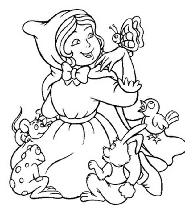 67 Desenhos Infantis Da Chapeuzinho Vermelho Para Colorir Pintar